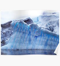 Iceberg , Antarctica Poster