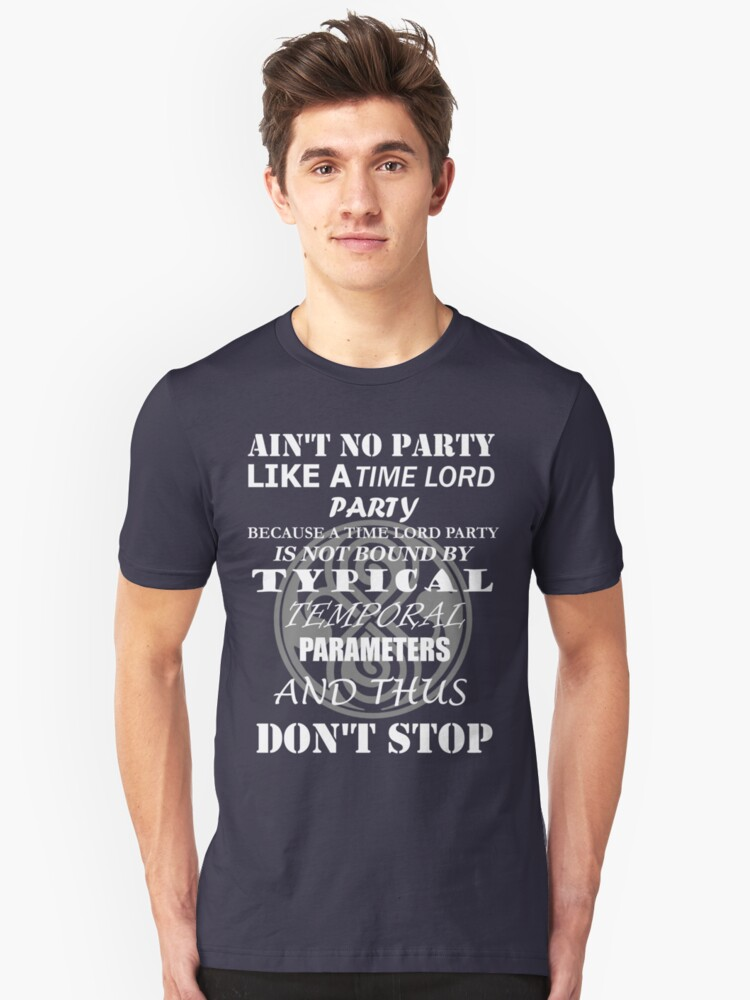 Time Lord Party Unisex T-Shirt Front