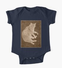 Fat Cat In the Grass Kids Clothes