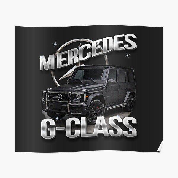 Vintage Mercedes G-Klasse Poster
