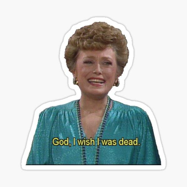 Blanche Devereaux - The Golden Girls Sticker