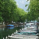 Annecy Canal by jlv-