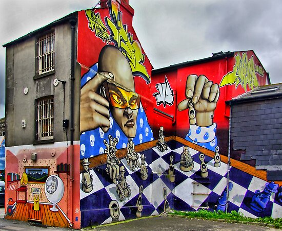 Chess Anyone? - Brighton - HDR by Colin  Williams Photography