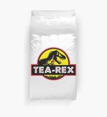 Tea-Rex - V2 (designer of the original) Duvet Cover