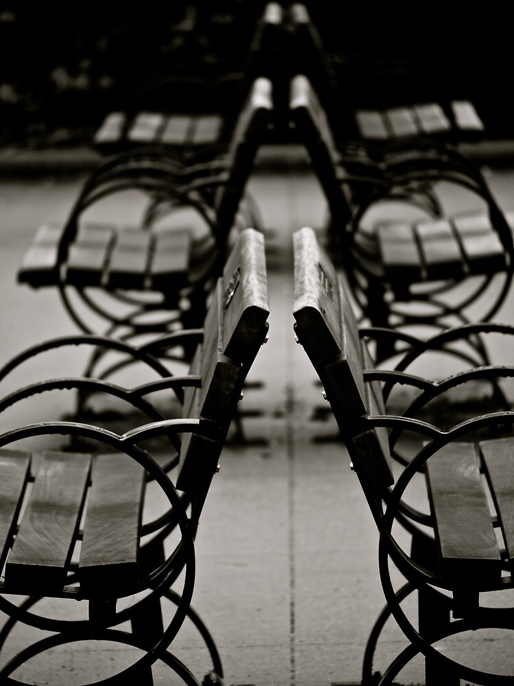 The Benches by Rae Tucker