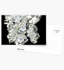 Pure Silver As Crystal Postcards