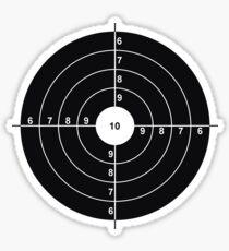 Shooting Target Sticker Sticker
