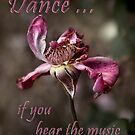 Dance ... if you hear the music by Rosalie Dale
