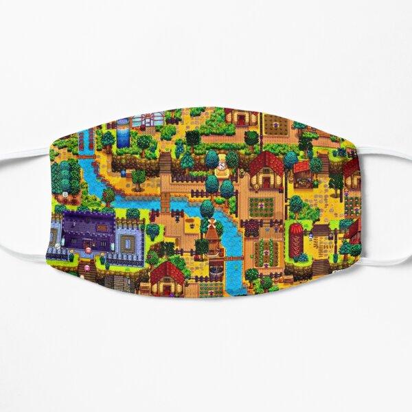 Stardew valley map  Flat Mask