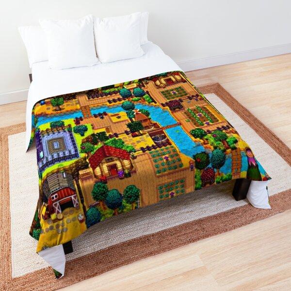 Stardew valley map  Comforter