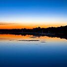 Budgewoi Lake May Sunset by Mathew Courtney