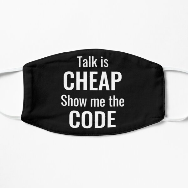 Coding Programmer Funny Quote Mask