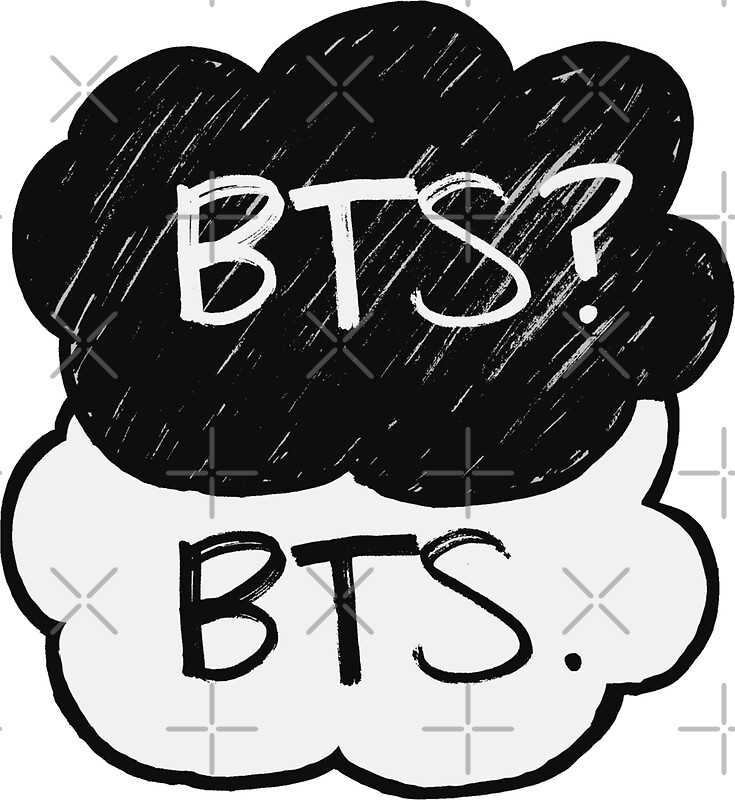 Quot Bts Bts Quot Stickers By Kpoploser Redbubble