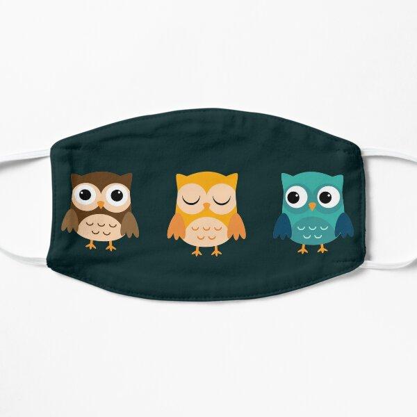 Cute Owls Chibi Mask