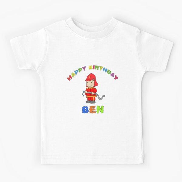 Happy Birthday Birthday Ben Child Child Boy Boy Kids T-Shirt