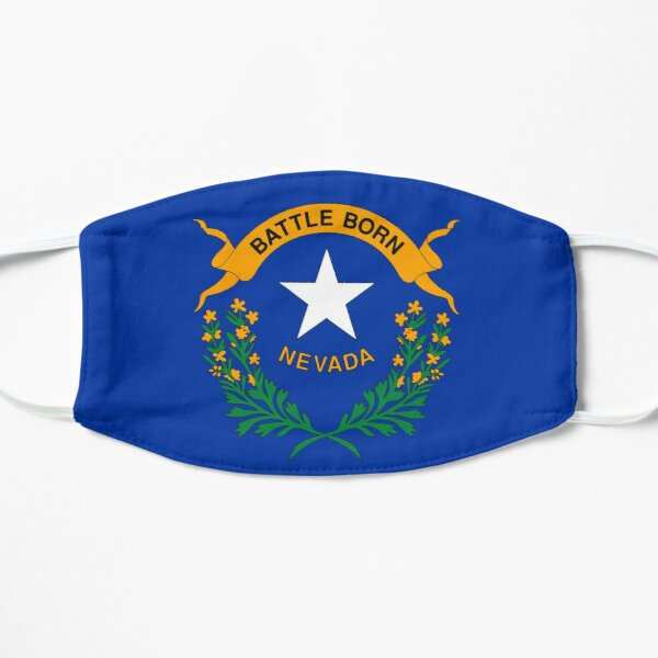 The State Flag of Nevada  Mask