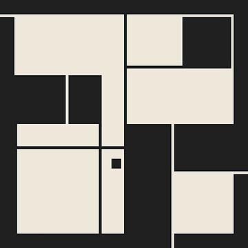 De Stijl / Bauhaus series 1 by jamieharrington