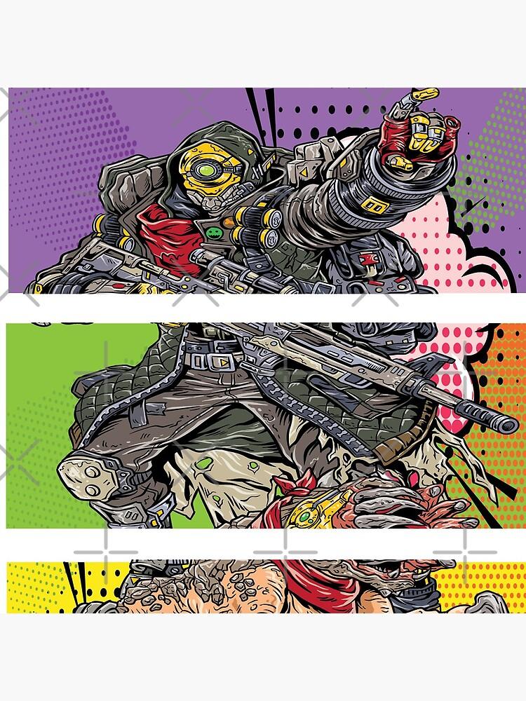 FL4K The Beastmaster with Guard Skag Borderlands 3 Rakk Attack! Pop Up Art by ProjectX23