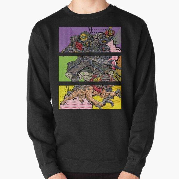 FL4K The Beastmaster with Guard Skag Borderlands 3 Rakk Attack! Pop Up Art Pullover Sweatshirt