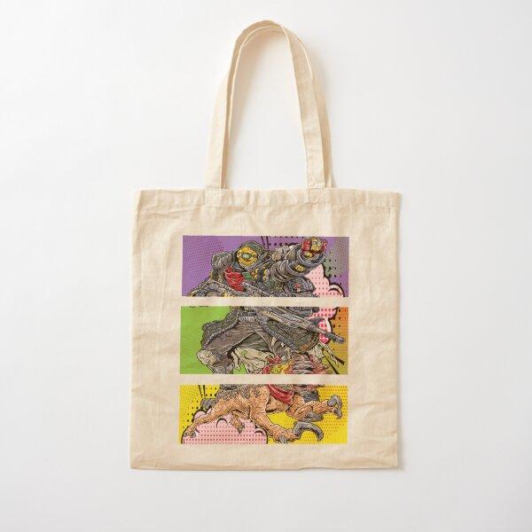 FL4K The Beastmaster with Guard Skag Borderlands 3 Rakk Attack! Pop Up Art Cotton Tote Bag