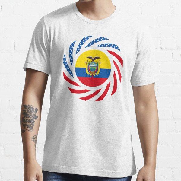 Ecuadorian American Multinational Patriot Flag Series Essential T-Shirt