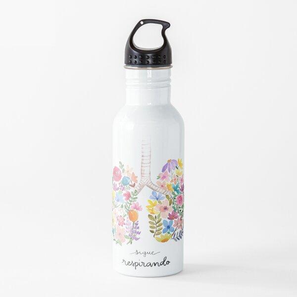 Sigue respirando Water Bottle