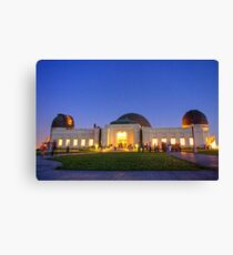 Griffith Observatory at Dusk Canvas Print