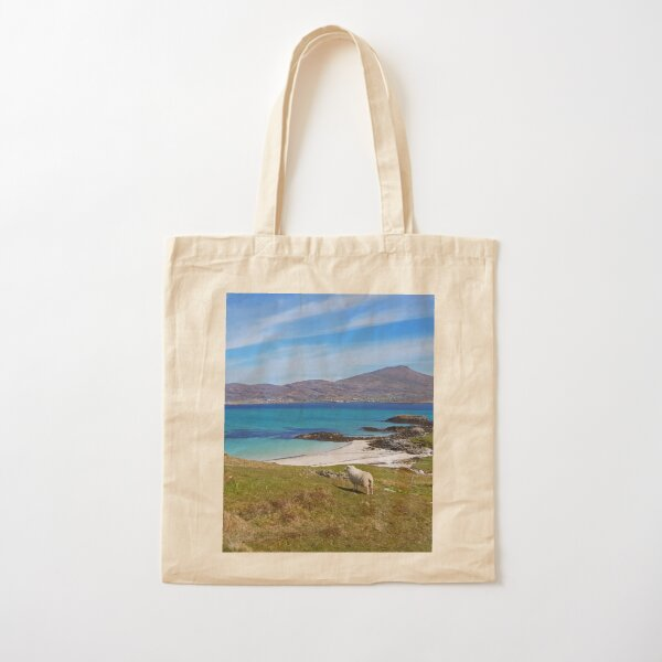Across from Castlebay Cotton Tote Bag