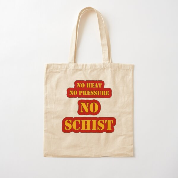No Schist in Geology Cotton Tote Bag