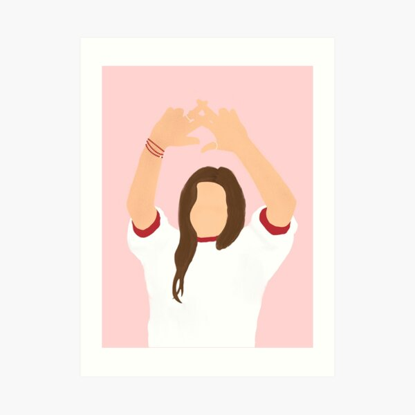 throw what you know Art Print