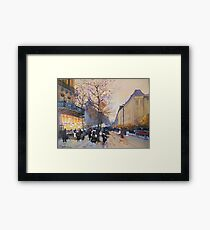 Place de la République, Paris from Eugene Galien LaLoue 1900 Framed Print