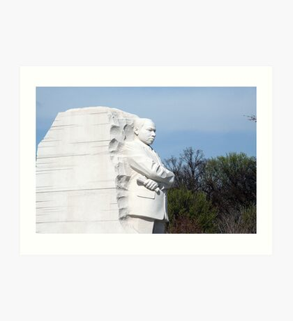 Martin Luther King, Jr. Memorial Art Print
