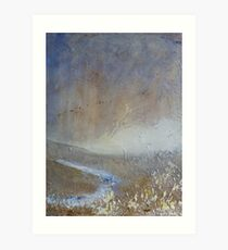 Pennine Stream Art Print