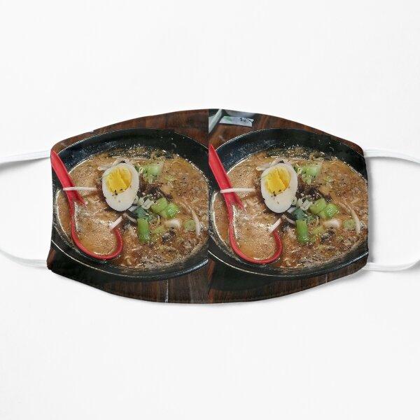 tonkatsu black (ramen) || eggs  Flat Mask