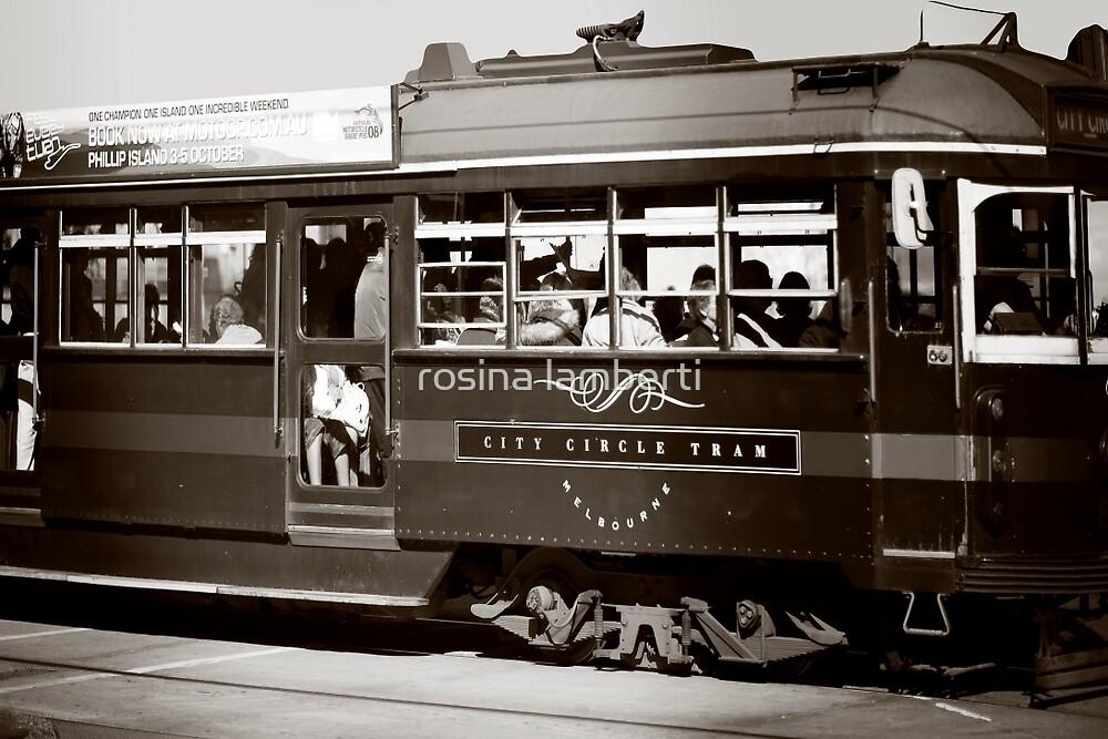 Melbourne City Tram by Rosina  Lamberti