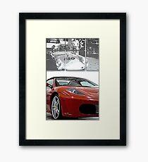 Ferrari 360 Spider Framed Print