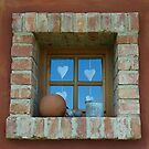 Unique Brick Window. by Lee d'Entremont