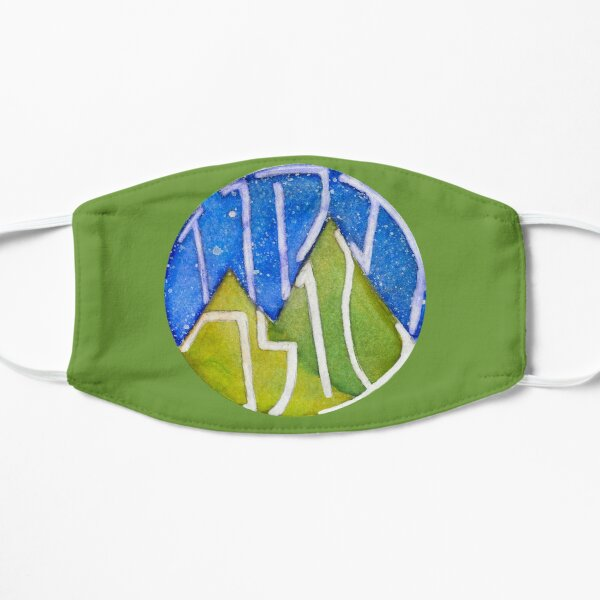 Tikkun Olam World Flat Mask
