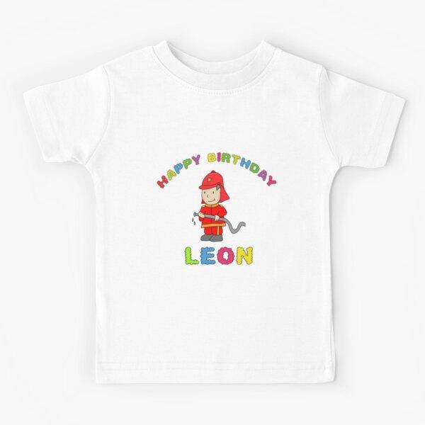 Leon Happy Birthday birthday children's birthday Kids T-Shirt