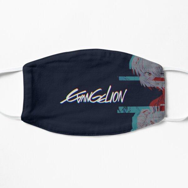 Neon Genesis Evangelion Aesthetic Design Flat Mask