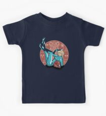 Power-up Pin-up- Metroid Shirt Kids Clothes