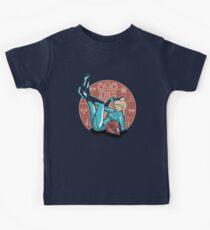 Power-up Pin-up- Metroid Shirt Kids Tee