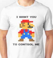 Control Me (Light Color) Unisex T-Shirt