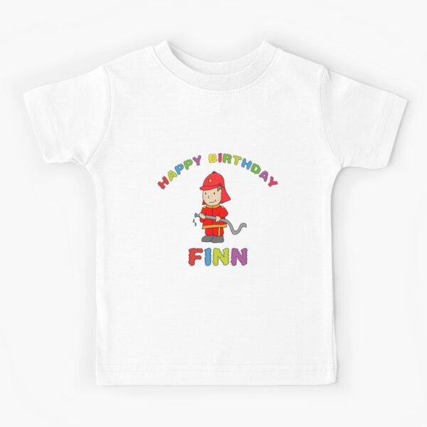 Finn children's birthday Happy Birthday Kids T-Shirt