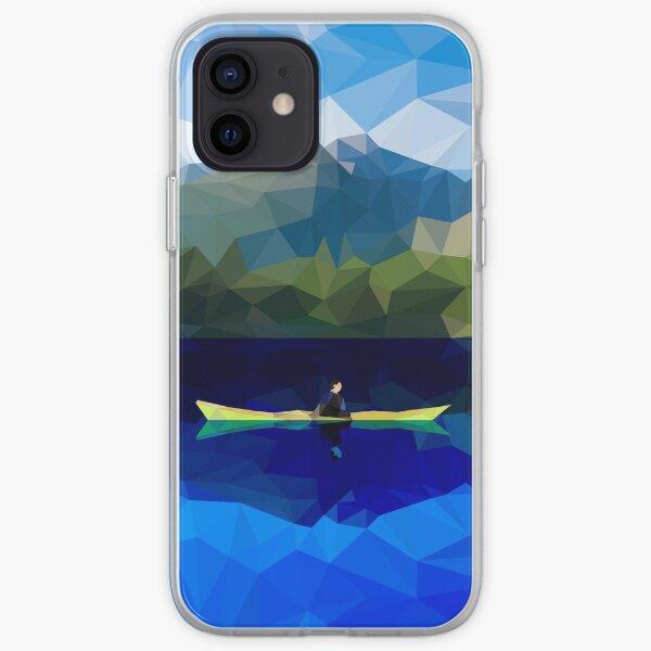 Mountain Kayaking iPhone Soft Case