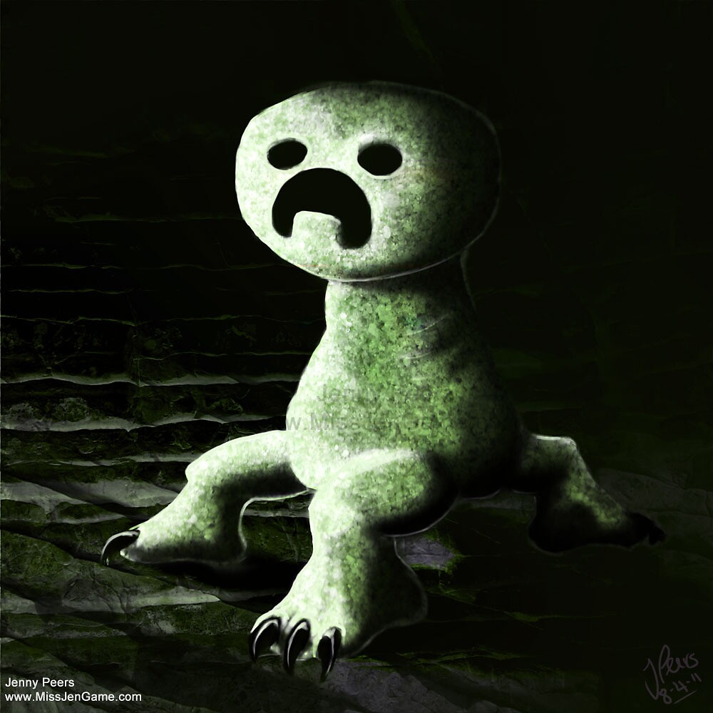 Creeper rawr by mrcreepercraft3