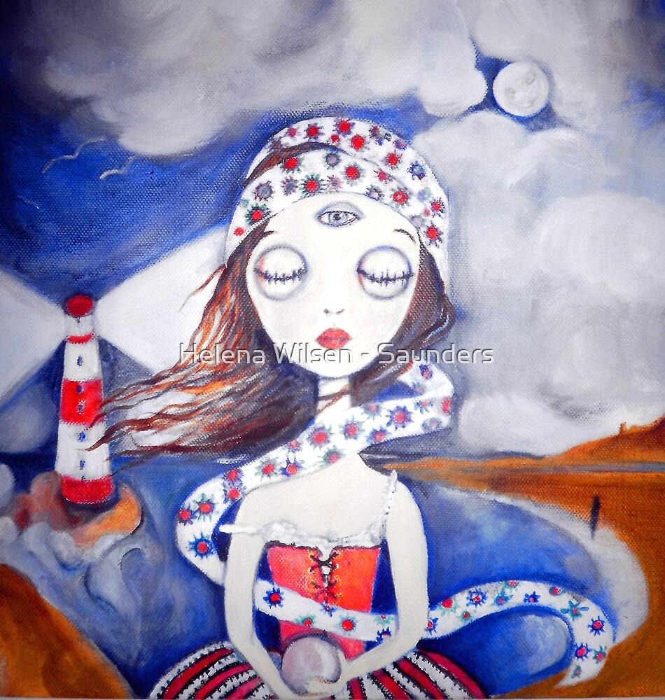 Coral the Oracle by Helena Wilsen - Saunders