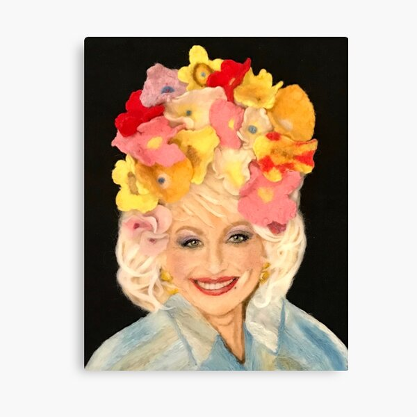 Dolly Parton (Well, I Just Love Everybody) Canvas Print