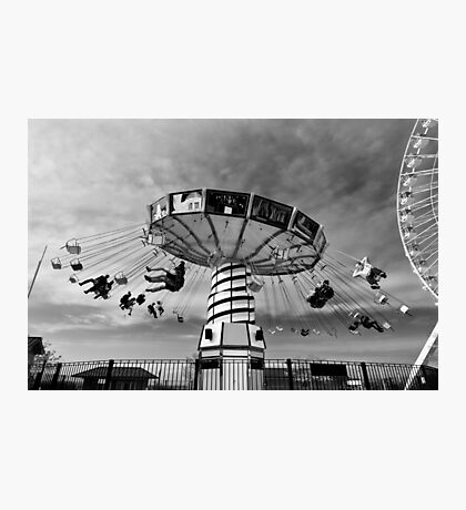 Carnival ride - Chicago, USA Photographic Print