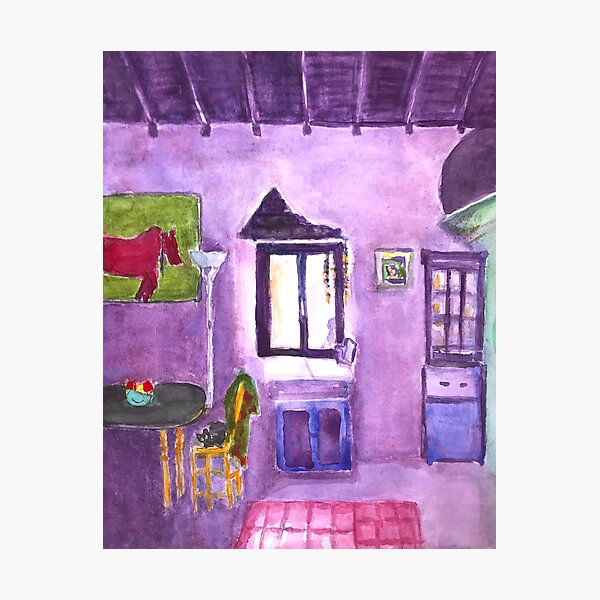 A Room in Portugal Photographic Print
